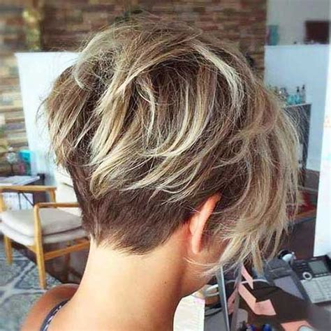 pinning back a pixie cool back view undercut pixie haircut hairstyle ideas 23