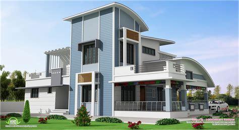 modern unique style villa design kerala home design and modern unique style villa design home kerala plans