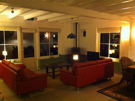 wandlen woonkamer hoeve schoonzicht vakantiehuis vakantiewoning in het