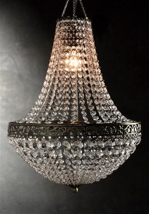 Plug In Crystal Chandelier Renaissance Crystal Chandelier 25in With Lighting Kit