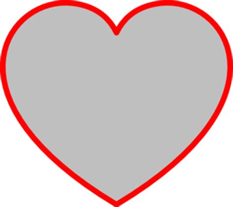 printable red heart shapes free printable heart stencils image search results