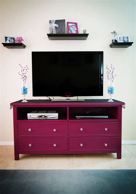 Tv Stand Out Of Dresser by Amazing Dresser Turned Tv Stand Makeover