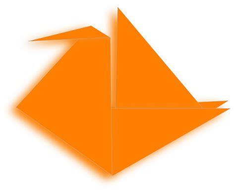 Origami Crane Clipart - paper crane 4 clip at clker vector clip