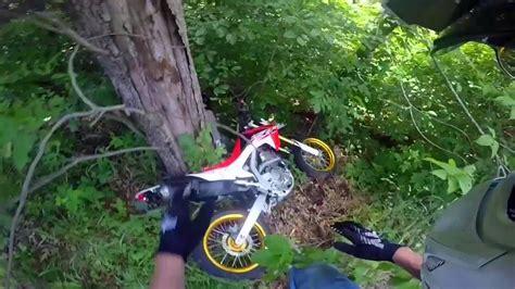 honda crf250l supermoto honda crf250l supermoto falls cliff