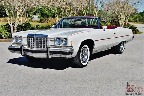 1974 pontiac grandville convertible 1974 pontiac grandville convertible