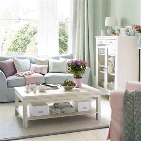 Living Room Blue Pink Pink And Blue Living Room Home D 233 Cor