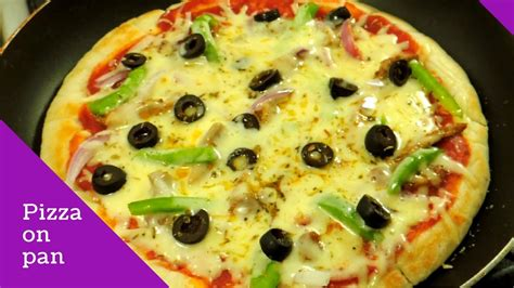 how to cook dogs in a pan how to make pizza on pan or tawa how to make pizza without oven by huma in the