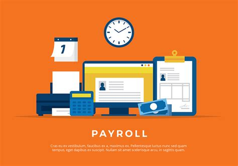 payroll illustration  vector   vectors