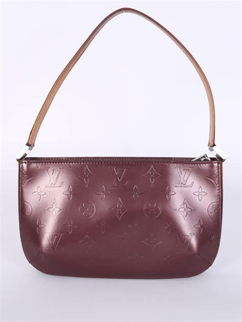 louis vuitton fowler monogram matt violet luxury bags