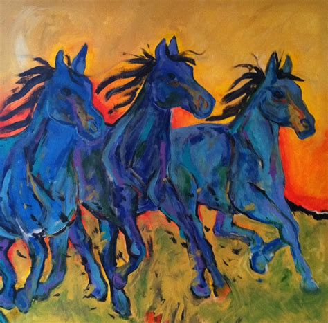 blue horses petergrantfineart s just another