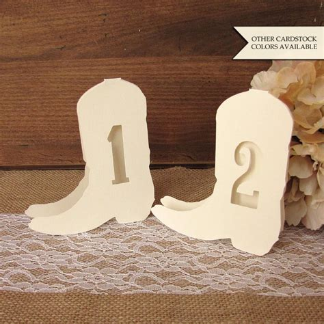 Number Barn Country Wedding Table Numbers Western Wedding Decor