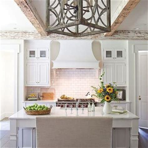 island bench rangehood kitchen cabinet corbels design ideas