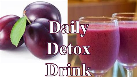 Daily Detox Drink For Weight Loss by How To Make Daily Detox Drink Prune Weight Loss Detox