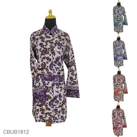 Tas Fl L000527 Set Dompet blus jumbo panjang motif abstrak bunga flamboyan blus