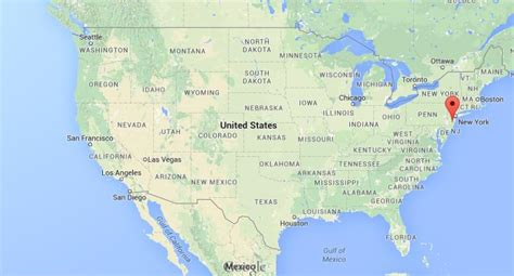 new jersey on the map of usa where is new jersey in usa map my
