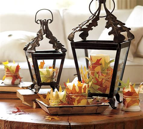 pottery barn home decor tips for adding warmth to your fall decor as it gets