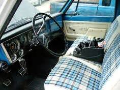 Sms Upholstery by Advanced Design Chevy Suburban Plaid Interior And Bench