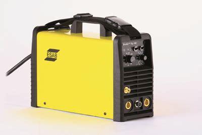Esab Buddy Tig 160 1 esab launches buddy tig 160 entry level tig welding machine