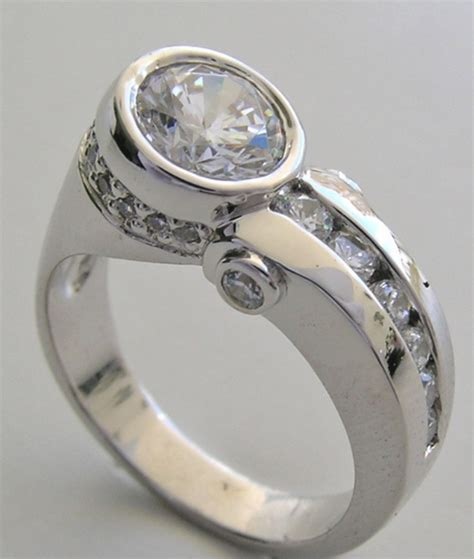unique wedding rings for wedding promise