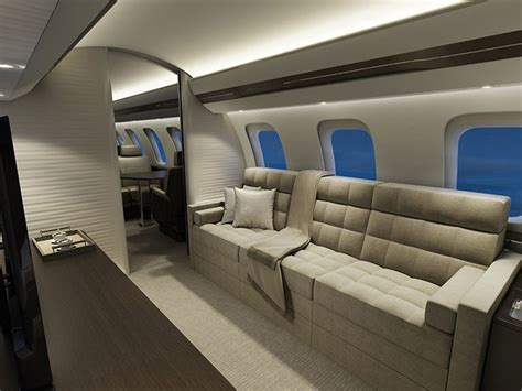 Best Color For A Bedroom by Bombardier Global 7000 Luxury Jet