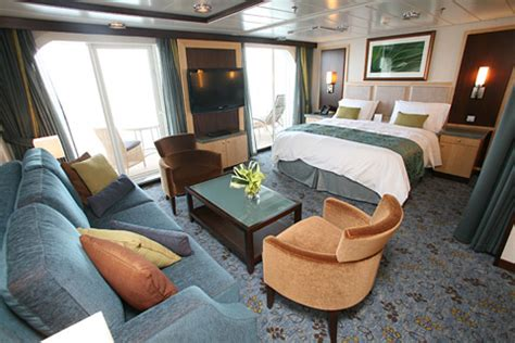 grand suite or crown loft suite on oasis royal caribbean