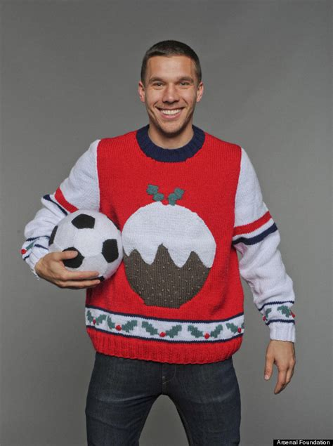arsenal jumper arsenal stars per mertesacker lukas podolski and more