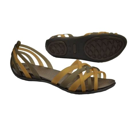 crocs sandals for crocs huarache flat womens sandals all sizes in various