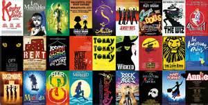 Musicals In Broadway Musicals Jigsaw Puzzle Puzzlewarehouse