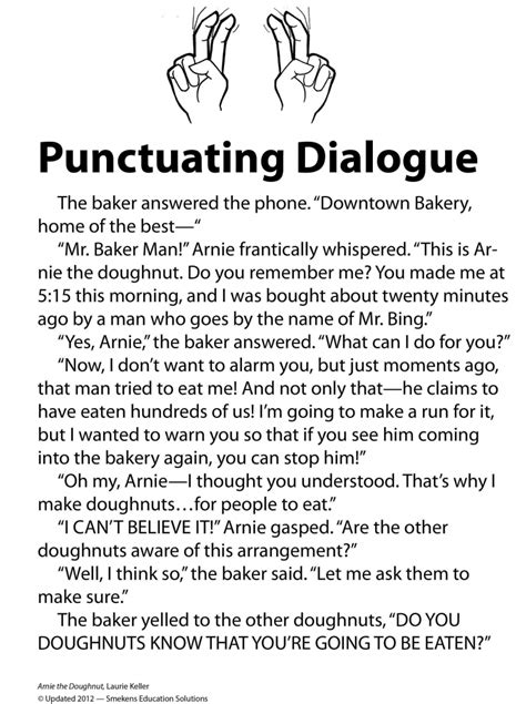 Dialogue Practice Worksheets