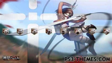 Theme Psp Attack On Titan | ps3 themes 187 shingeki no kyojin attack on titan