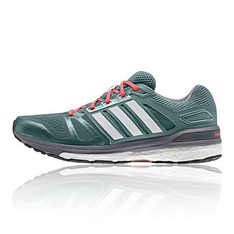 adidas supernova sequence 7 womens green sneakers running