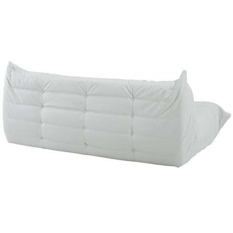downlow loveseat downlow sofa white leather advancedinteriordesigns
