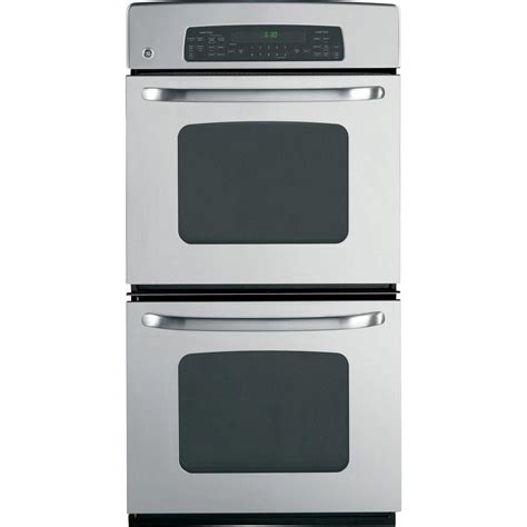 ge 27 in electric wall oven with convection in