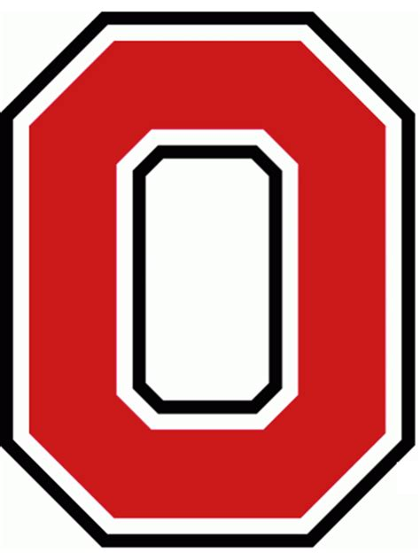 Ohio State Block O Outline by Osu Block O Clipart