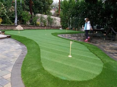 putting green backyard cost artificial turf jacinto city texas best indoor putting