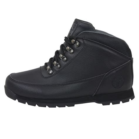 14 Sergio Shoes by Sergio Tacchini Boots Oban Mens Black Hiker Shoes Ebay
