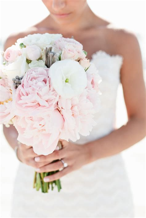 pink peonies wedding pink peony and white bridal bouquet elizabeth anne