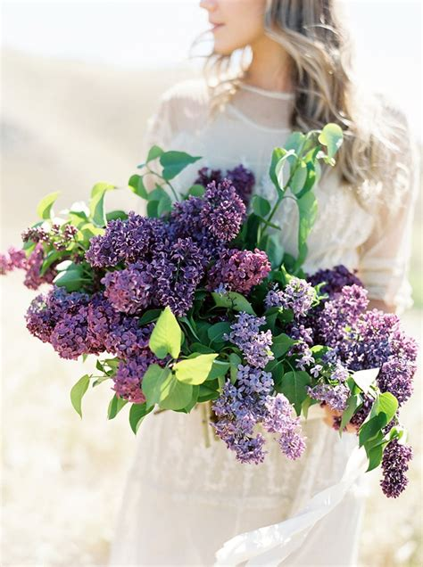 Wedding Bouquet Lilac by Lilac Wedding Flower Inspiration Once Wed