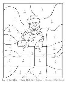 coloring math worksheets winter math worksheets for 2nd 3rd and 4th