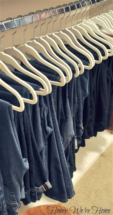 Jean Rack For Closet by How To Hang Transitional Closet Honey We Re Home