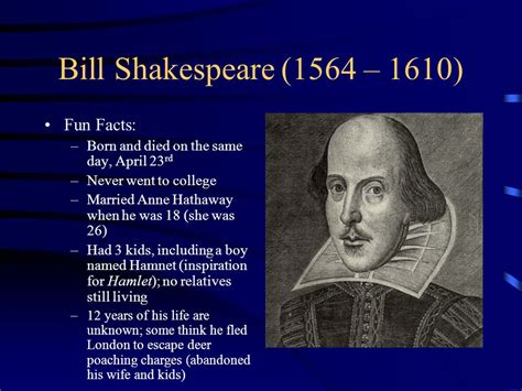 shakespeare biography quick facts william shakespeare s macbeth ppt video online download