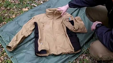 Jaket Tad Tactical tad softshell jacket remade