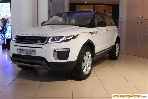 land rover india 2016 range rover evoque launched in india at rs 47 10