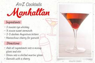 manhattan drink recipe peyt puja worshiping the stomach