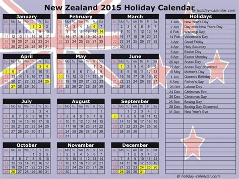 printable calendar 2014 and 2015 nz new zealand 2015 2016 holiday calendar