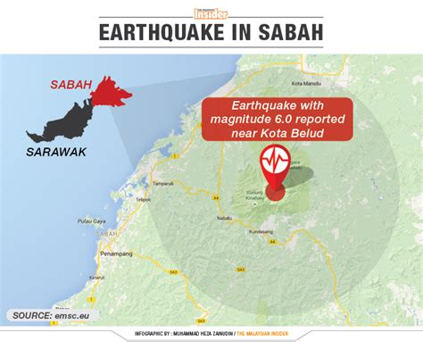 earthquake malaysia sabah earthquake latest updates and all you need to know