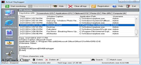 max keylogger 3 5 8 full version serial key actual keylogger 3 2 crack registration code download