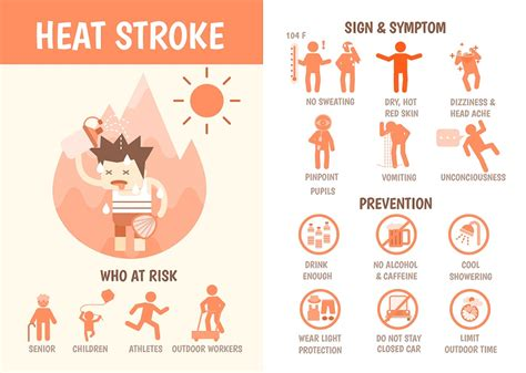 heat stroke signs heat stroke the warning signs science care