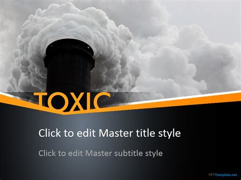 chemical engineering ppt templates free free toxic ppt template