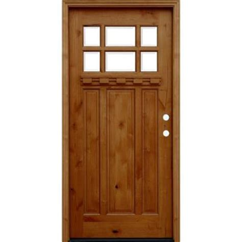 Craftsman Door Dentil Shelf by Pacific Entries 36 In X 80 In Craftsman Rustic 6 Lite